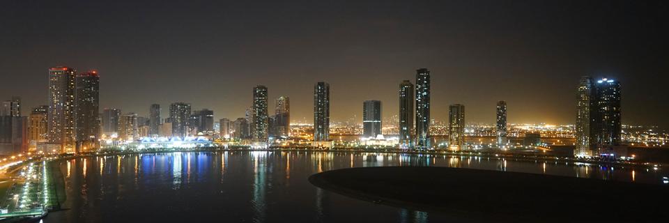 Al_Khan_Lagoon_by_Night