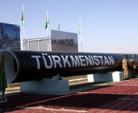 Pipeline installation in Turkmenistan